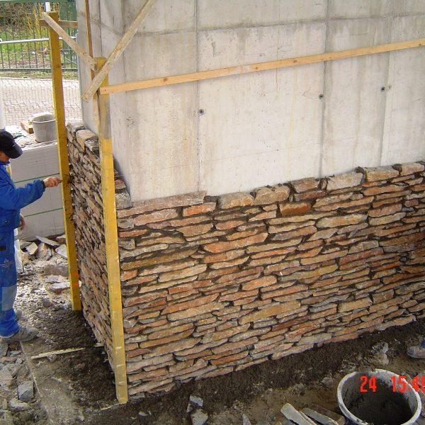 Fundering Natuurstenenmuren