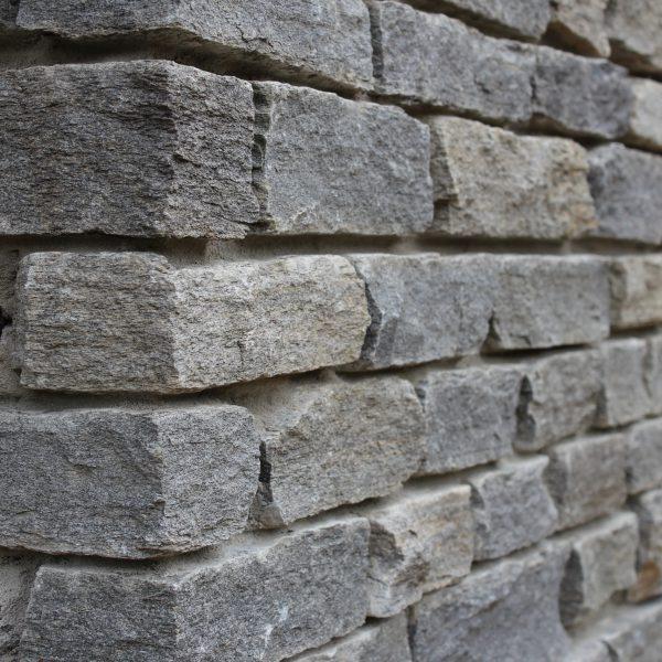 Stenen muur buiten