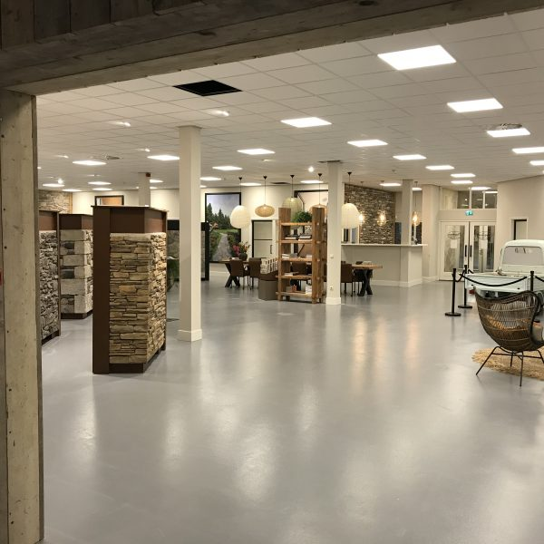 De vernieuwde showroom - The Flagstone Company