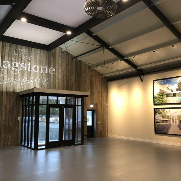Vernieuwde showroom - The Flagstone Company