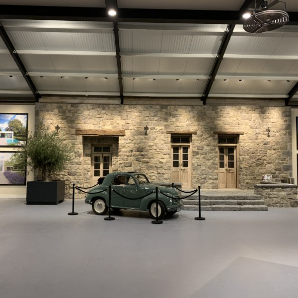 Fiat Topolino in de nieuwe showroom